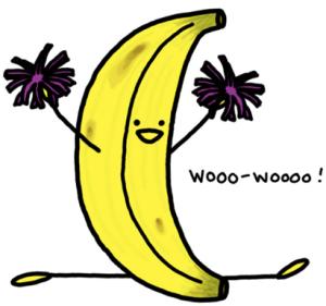 Banan tegning